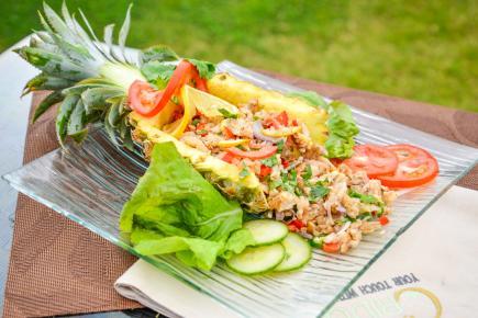 Salade de poisson façon C-Ridge