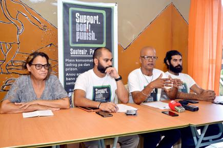 Le collectif mène une lutte sans relâche pour faire freiner la prolifération de la drogue dans l'île.