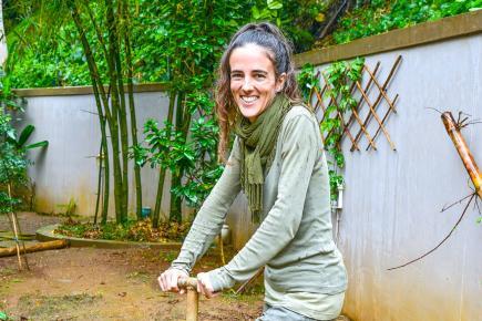Aurore Rouzzi milite pour une agriculture plus productive, écologique et saine.