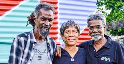Menwar, Percy Yip Tong et Malenn Oodiah sont parmi les acteurs du Projet Sime Lalimier.