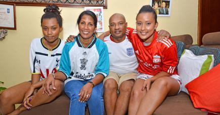 Chez les Rateau, le foot est une histoire de famille et la Coupe du Monde un événement à ne pas manquer.