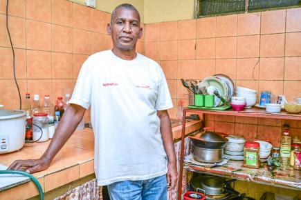 Georges Mounawah n'utilise pas cette poudre si le client ne le souhaite pas.