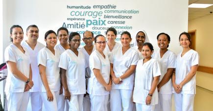C'est une équipe pluridisciplinaire qui exercera au cœur de l'unité des soins palliatifs.