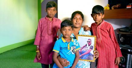 Le trentenaire laisse derrière lui une épouse et trois fils.