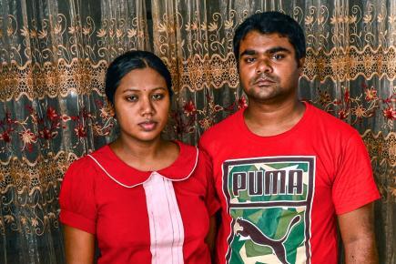 Akash et Neha Sookun avaient tout préparé pour la venue des jumelles.