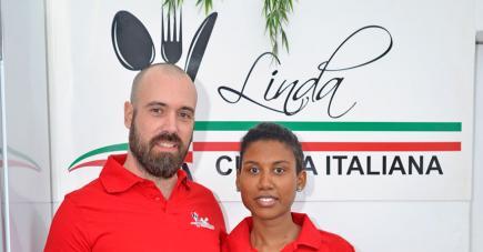 Le couple vous invite à découvrir la cuisine italienne.