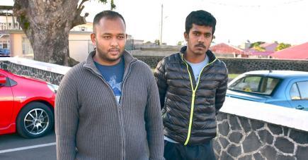 Amarnath et Vidul ont été témoins de l'agression de leur cousin.