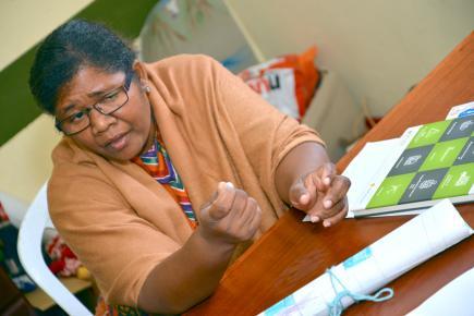 Apprendre à gérer son argent, une valeur fondamentale pour Shirley Bell.