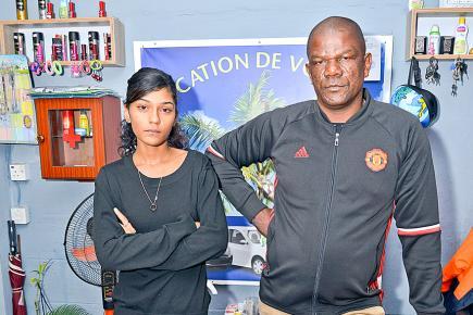 Karine Noël et Marcelin Humbert, le père du récidiviste, veulent que justice soit faite.