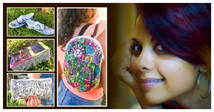 Une jeune femme qui veut partager de la positivité et plein de petits trucs sympas.