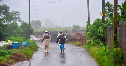 Si mercredi, l'île a connu un avis de forte pluie avec des accumulations d'eau dans certaines régions, la fin de la semaine était sous la menace d'une tempête tropicale modérée.