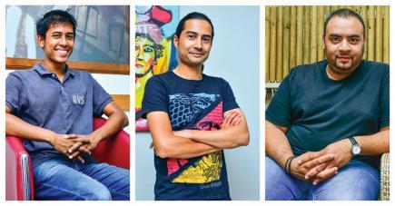 Damien Nayna, Damien Ng Tat Chung et Bertrand Diolle vous présentent leur émission.