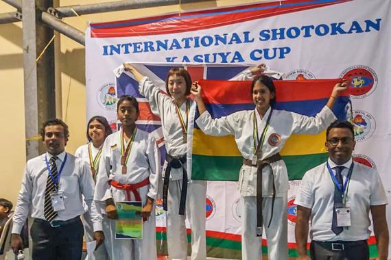 En terminant deuxième derrière l'Anglaise Janeme Lam ceinture noire, la Mauricienne Rajesha Cowaloosur est convaincue qu'elle est sur la bonne voie.