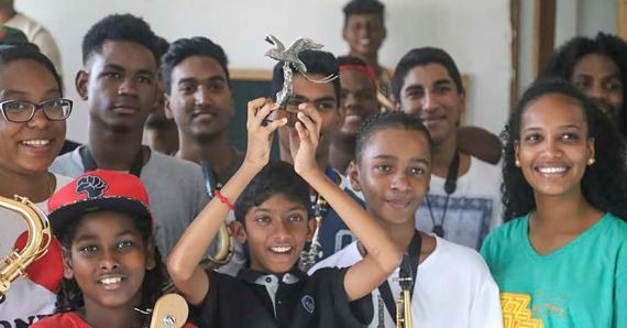 Après Cuba et l'Italie, les jeunes de Mo'Zar visent cette fois Rio.