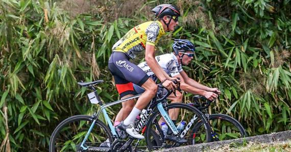 Le Mauricien a remporté pour la deuxième fois de suite le Tour Antenne Réunion.