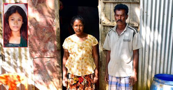 Chandrani et Soujeet, les parents de la victime, disent lui avoir demandé de mettre un terme à cette union.