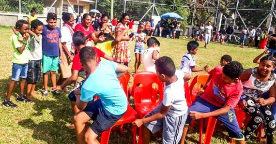 Les enfants ont participé à plusieurs activités.
