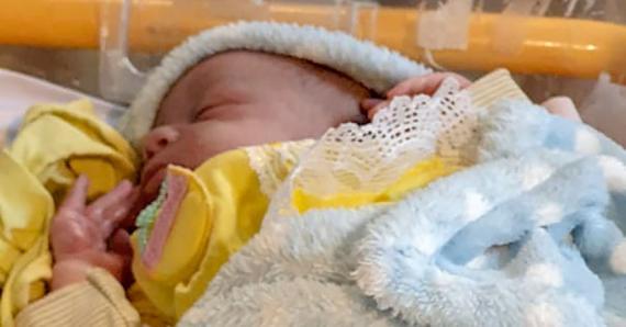 Le petit Djulyan est né à 00h40 le 1er janvier.