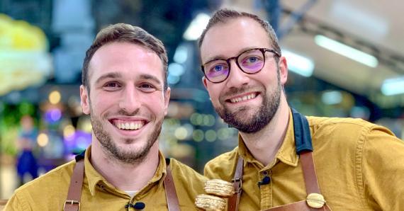 «Les qualités pour être un bon pâtissier : il faut être passionné, avoir une certaine rigueur, du courage et de la volonté», nous confient Henri Desmoulins et Alexis Zecchin, les gagnants de l'émission Le meilleur pâtissier, les professionnels sur M6.