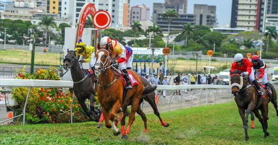Alramz a effacé sa décevante prestation dans la Duchesse en remportant de belle manière la course principale d'hier.