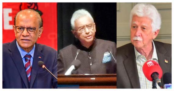 Pour Paul Bérenger et Navin Ramgoolam, Pravind Jugnauth se cache derrière l'ICAC.