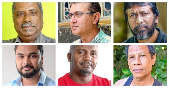 Steeve Dubois, Yeshen Gunnoo, Amarnath Hosany, Bruno Raya, Jon Rabaud et Jean Renat Anamah réagissent.