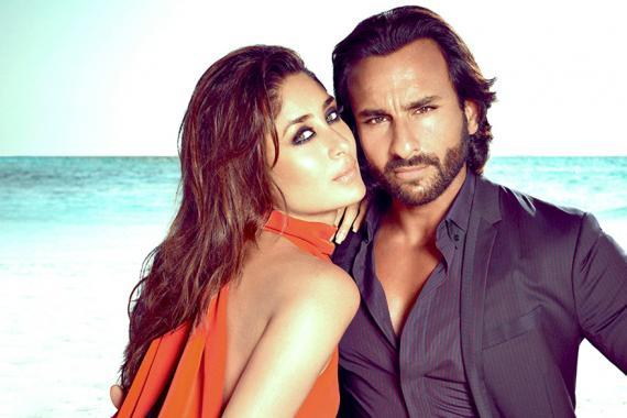 Kareena Kapoor fait une brève apparition aux côtés de son époux, Saif, qui joue un papa prêt à tout pour se racheter auprès de son fils.