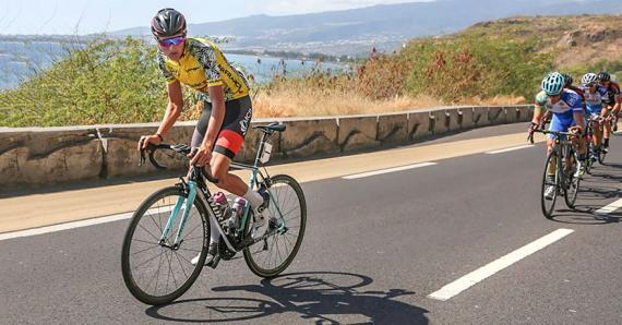 Christopher Lagane, double vainqueur du Tour de la Réunion, demeure un prétendant au sacre.