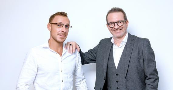 Ludovic Balloux et Philippe Jaunet, les co-fondateurs de NetLab.