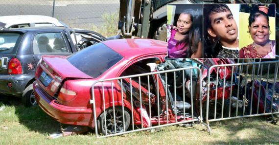 Seeta, Akshay et Priya ont succombé à leurs multiples blessures.