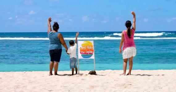 Les membres de l'association se battent pour la préservation de cette belle plage du Sud.