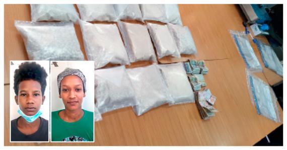 Enzi Rungassamy et Wendalina Rabais font partie des individus interpellés cette semaine pour trafic de drogue.