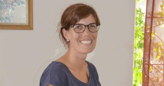 Élise Martinez, physiothérapeute de l'ONG Step by Step, reviendra à Maurice prochainement avec sa collègue Valérie Gramaglia, pour s'occuper d'autres enfants.