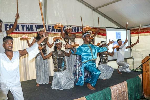 Les jeunes ont participé à un spectacle lors de cet anniversaire spécial.