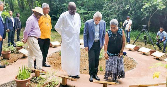 Plusieurs activités ont rythmé la journée d'hier, notamment l'inauguration de l'Open Air Museum qui est une reconstitution d'un village typique d'esclaves à Trou-Chenille, au Morne.