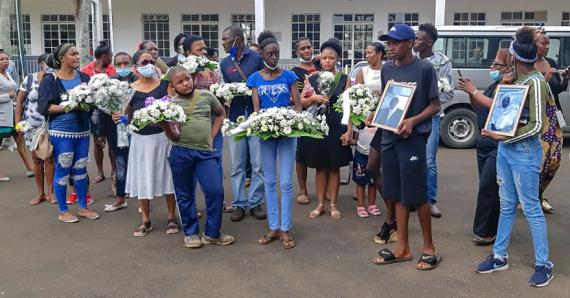 Les funérailles des deux enfants ont eu lieu à la paroisse de leur localité