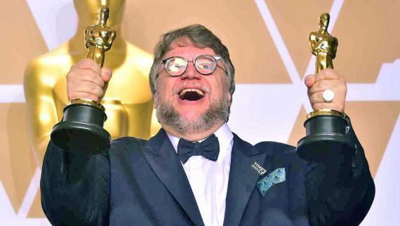 Gary Oldman, Frances McDormand et Guillermo Del Toro, respectivement  meilleur acteur, meilleure actrice et meilleur réalisateur de cette soirée pétillante.