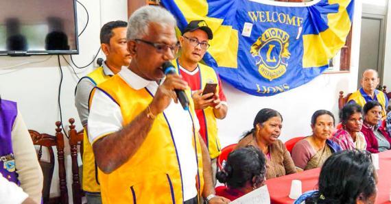 Les Lions ont organisé une journée en l'honneur des aînés de Bois-Chéri.