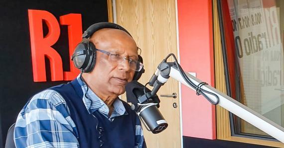 «À Radio One, j'ai été en deux occasions rédacteur en chef», confie Finlay Salesse.