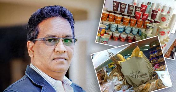 Ajay Jahree et son équipe proposent des produits en papier recyclés et des emballages personnalisés.