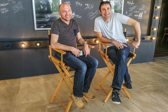 François Villet et Christophe Crozier apportent leur savoir-faire et leur passion.