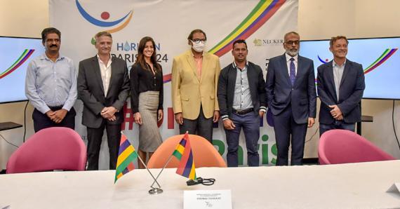 RM Club, Necker Gestion Privé et Muscletech sont les premières firmes à se joindre à l'aventure de Paris 2024.