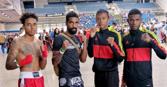Les Mauriciens sont assurés de trois podiums à leur première sortie internationale après deux ans.