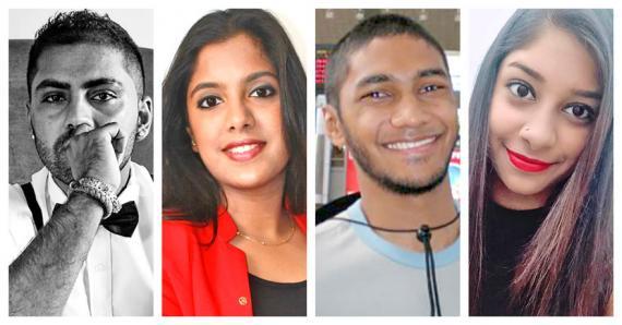 Hurday, Shemida, Yvan et Milasha sont des jeunes qui veulent apporter de nouvelles idées à la société mauricienne.