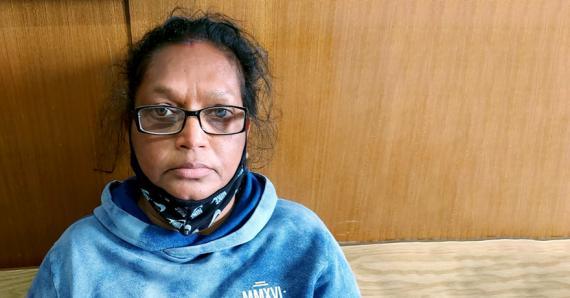 Danwantee Khoobloll a comparu devant le tribunal de Mahébourg sous une accusation provisoire d'assassinat.