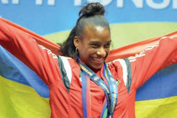 La jeune Mauricienne fait partie des sportifs  les plus prometteurs du pays.