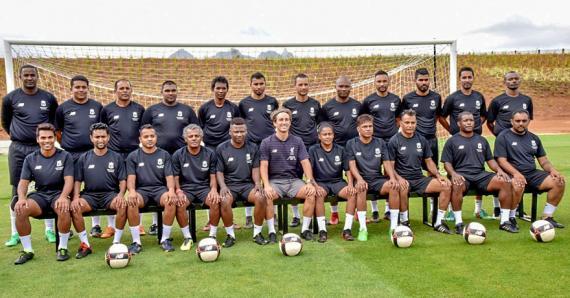 Les coachs mauriciens sont en formation en attendant d'accueillir les futurs footballeurs.