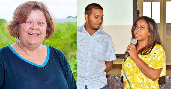 Marie-Michèle Étienne, Guillaume et Kathy Noisette sont sortis grandis de cette expérience humaine.
