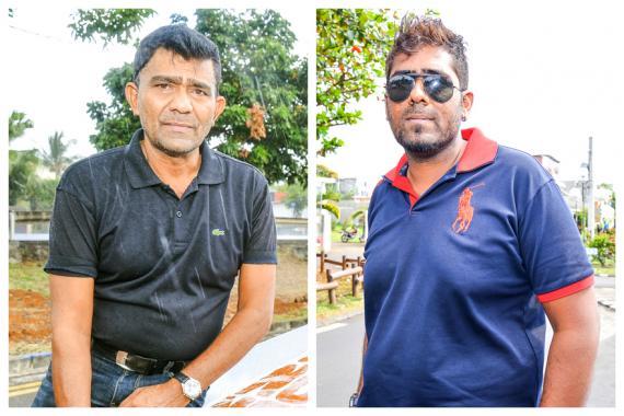 Nishar et Azam Rujubali ont fait un rallye auto-moto.
