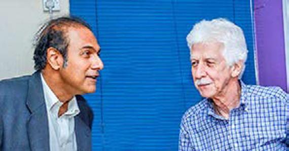 Steve Obeegadoo et Paul Bérenger sauront-ils trouver un terrain d'entente ?   (Photo modifiée)